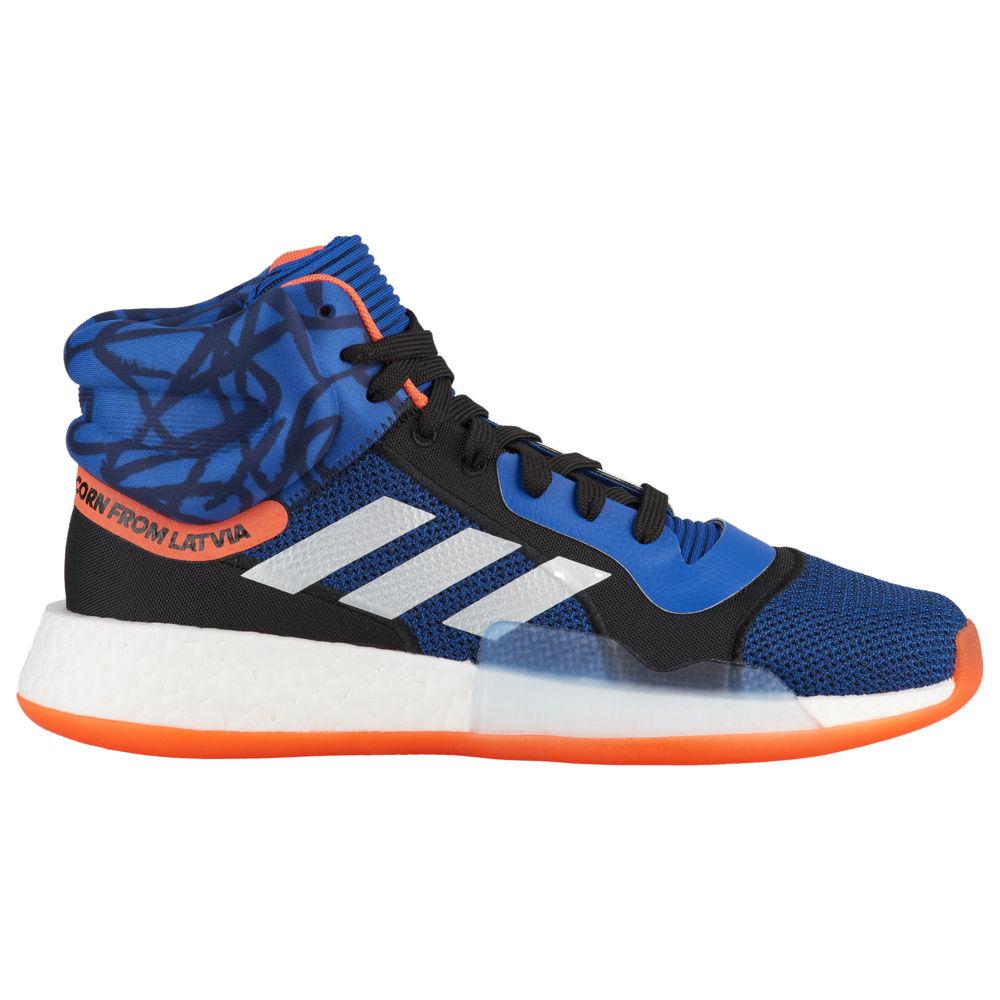 アディダス adidas メンズ バスケットボール シューズ・靴【Marquee Boost Mid】Collegiate Royal/Black/True Orange