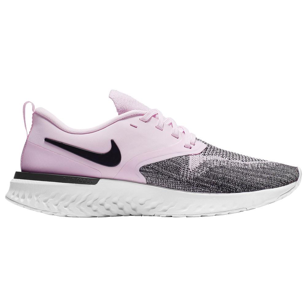 ナイキ Nike レディース ランニング・ウォーキング シューズ・靴【Odyssey React Flyknit 2】Pink Foam/Black/Platinum Tint