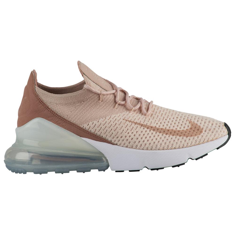 ナイキ Nike レディース ランニング・ウォーキング シューズ・靴【Air Max 270 Flyknit】Guava Ice/Particle Beige/Desert Dust/White
