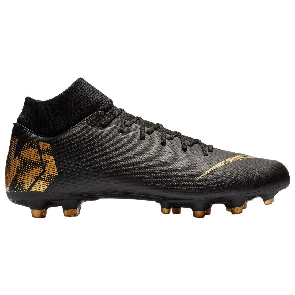 ナイキ Nike メンズ サッカー シューズ・靴【Mercurial Superfly 6 Academy MG】Black/Metallic Vivid Gold Black Lux