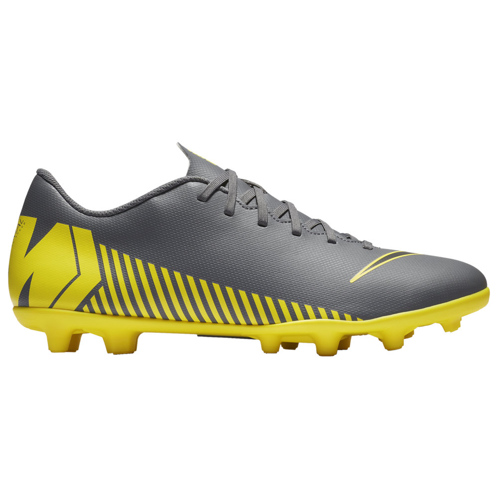 ナイキ Nike メンズ サッカー シューズ・靴【Mercurial Vapor 12 Club MG】Dark Grey/Black/Optic Yellow Game Over