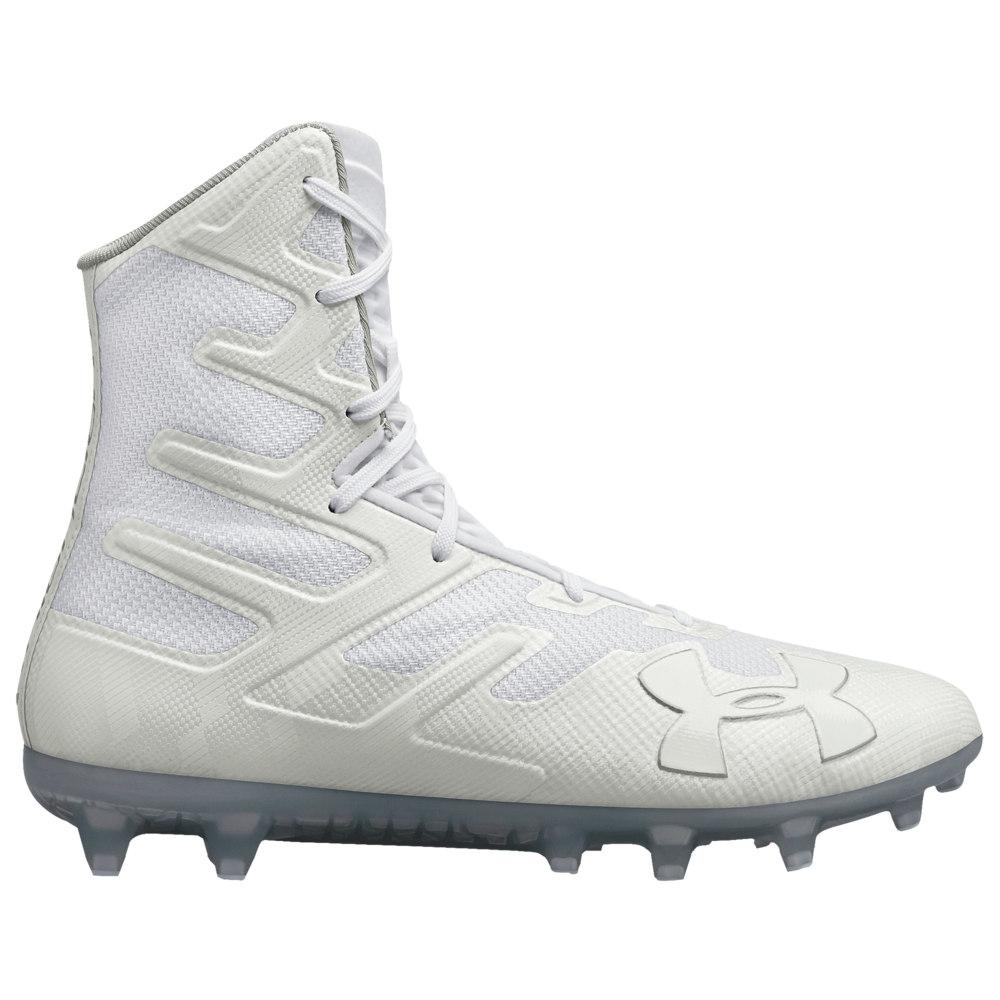 アンダーアーマー Under Armour メンズ ラクロス シューズ・靴【Lacrosse Highlight MC】White/White