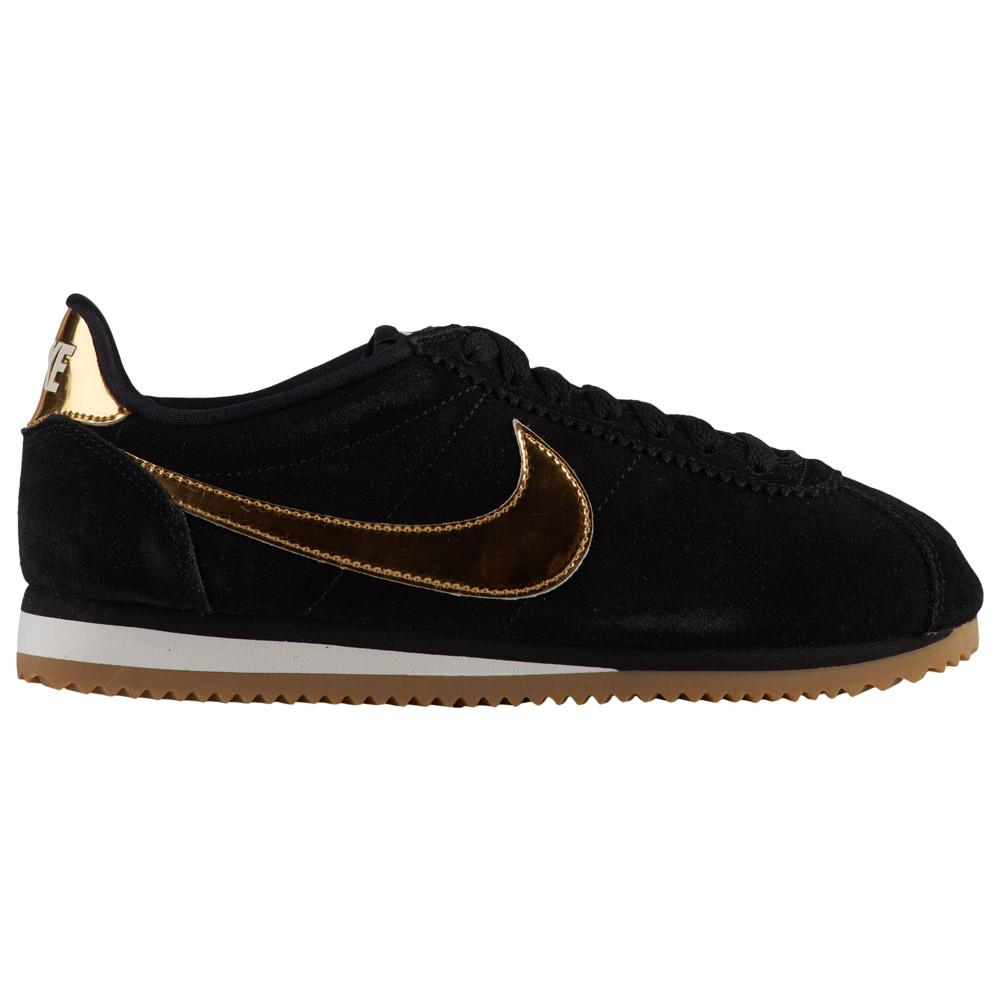ナイキ Nike レディース ランニング・ウォーキング シューズ・靴【Classic Cortez】Black/Metallic Gold/Phantom/Gum Light Brown SE