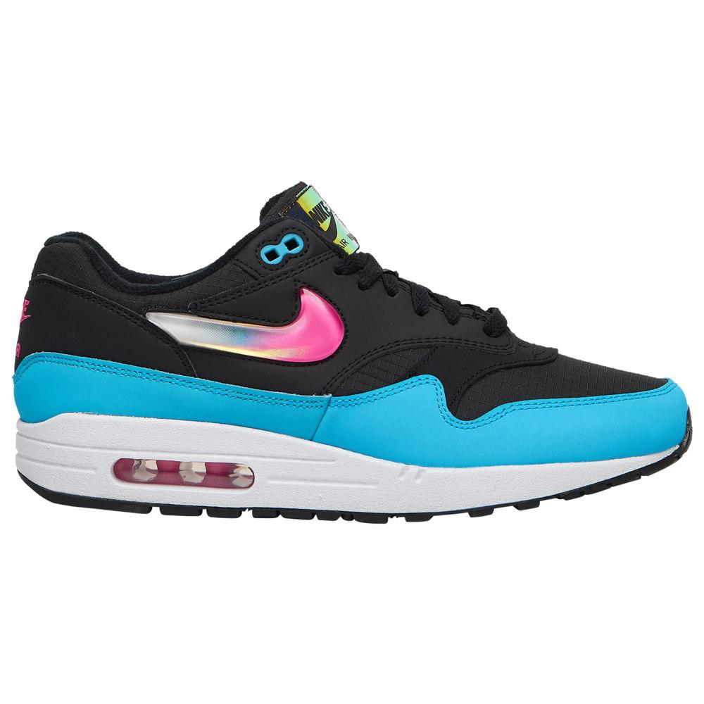 ナイキ Nike メンズ ランニング・ウォーキング シューズ・靴【Air Max 1】Black/Laser Fuchsia/Blue Fury/White City Brights