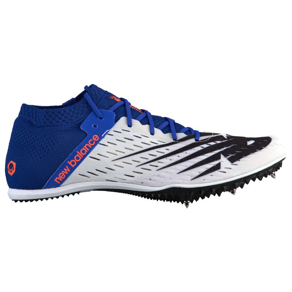 ニューバランス New Balance メンズ 陸上 シューズ・靴【MD800 V6】White/Uv Blue