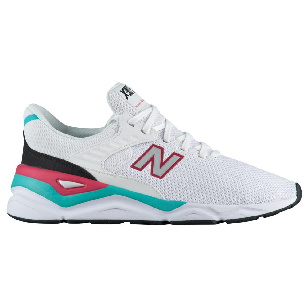 ニューバランス New Balance メンズ ランニング・ウォーキング シューズ・靴【X90】White/Pomegranate Knit