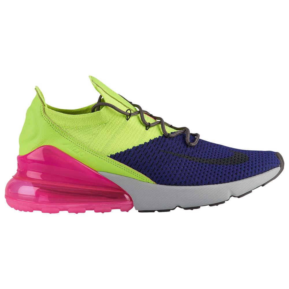 ナイキ Nike メンズ ランニング・ウォーキング シューズ・靴【Air Max 270 Flyknit】Regency Purple/Thunder Grey/Volt
