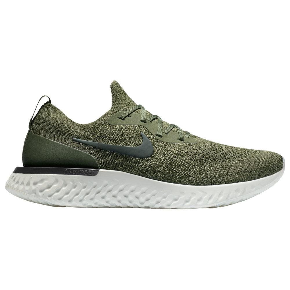ナイキ Nike メンズ ランニング・ウォーキング シューズ・靴【Epic React Flyknit】Cargo Khaki/Black/Light Silver