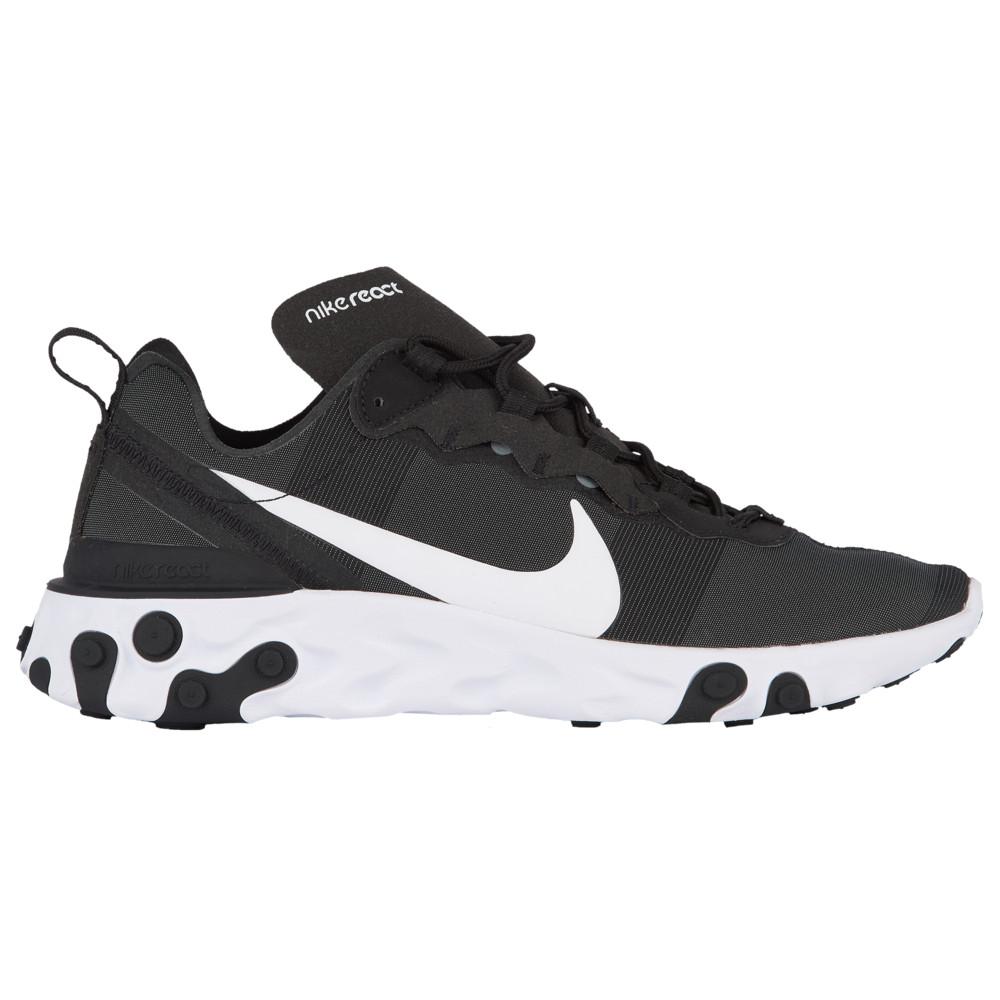 ナイキ Nike メンズ ランニング・ウォーキング シューズ・靴【React Element 55】Black/White