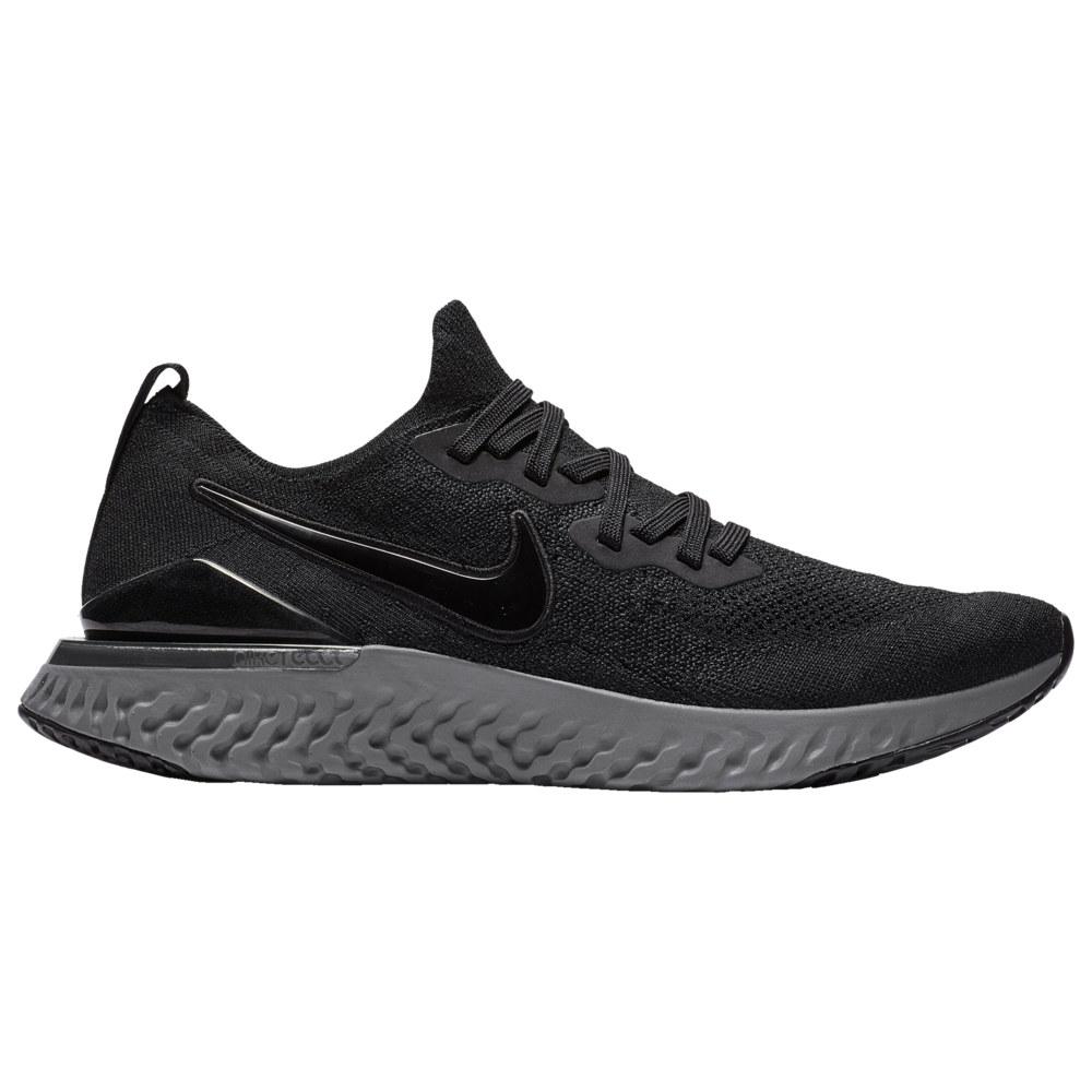 ナイキ Nike メンズ ランニング・ウォーキング シューズ・靴【Epic React Flyknit 2】Black/Black/Anthracite/Gunsmoke