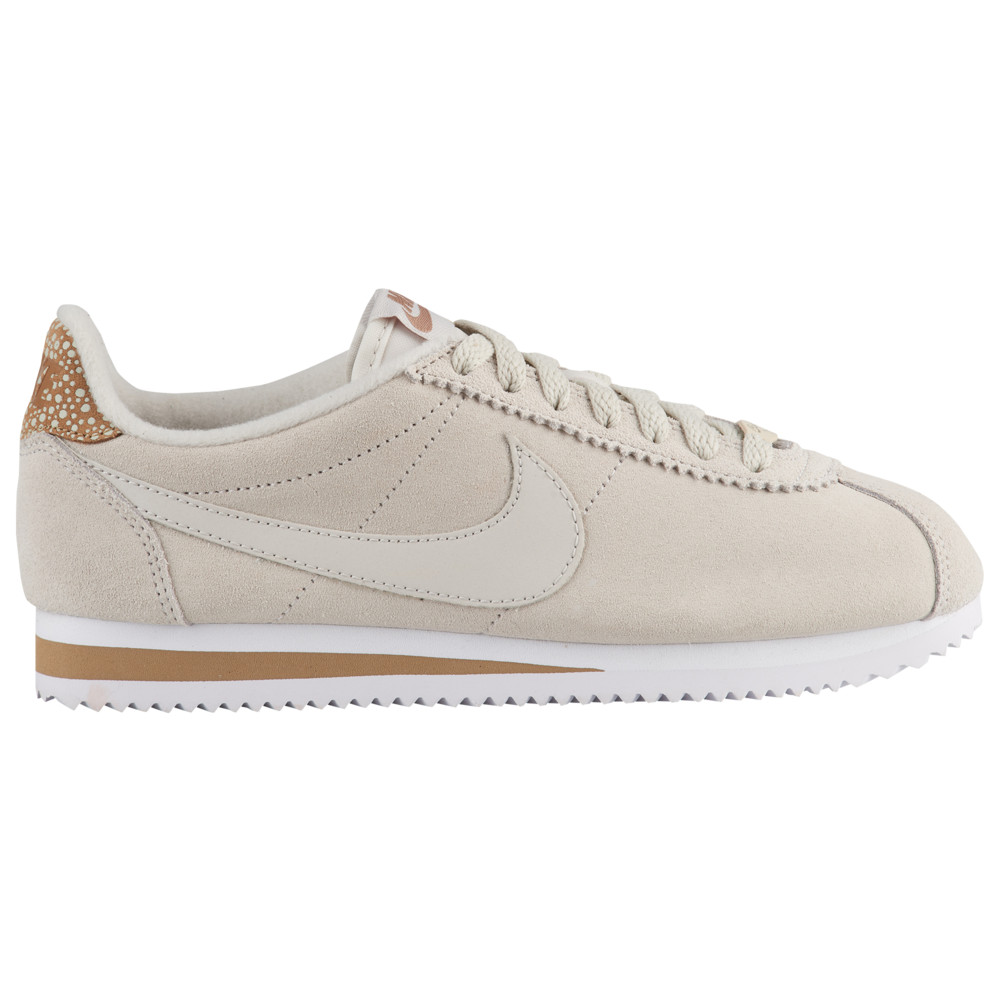 ナイキ Nike レディース ランニング・ウォーキング シューズ・靴【Classic Cortez Premium】Light Bone/Light Bone/Canteen/White