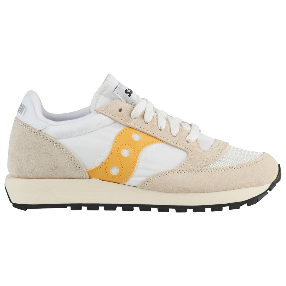 サッカニー Saucony レディース ランニング・ウォーキング シューズ・靴【Jazz Vintage】Cement/Yellow