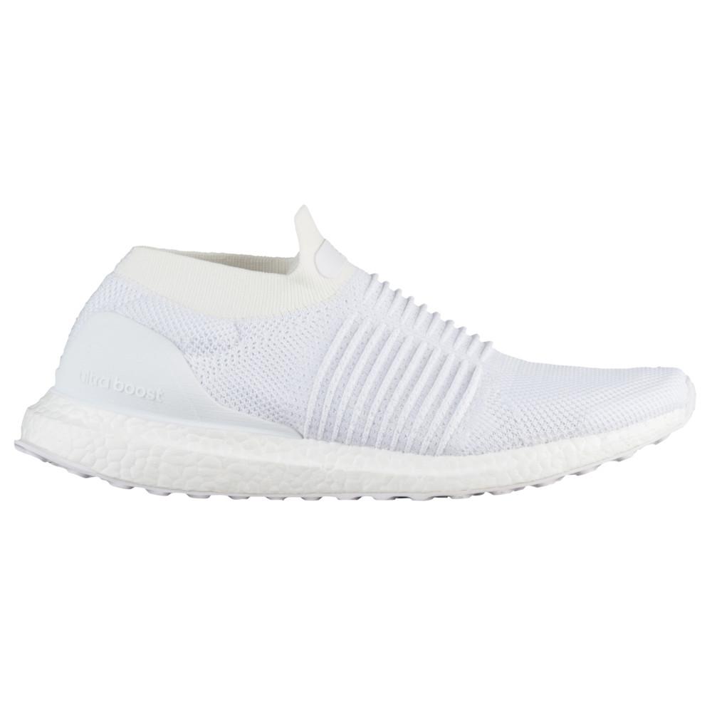 アディダス adidas メンズ ランニング・ウォーキング シューズ・靴【Ultraboost Laceless】Crystal White/Pearl Grey
