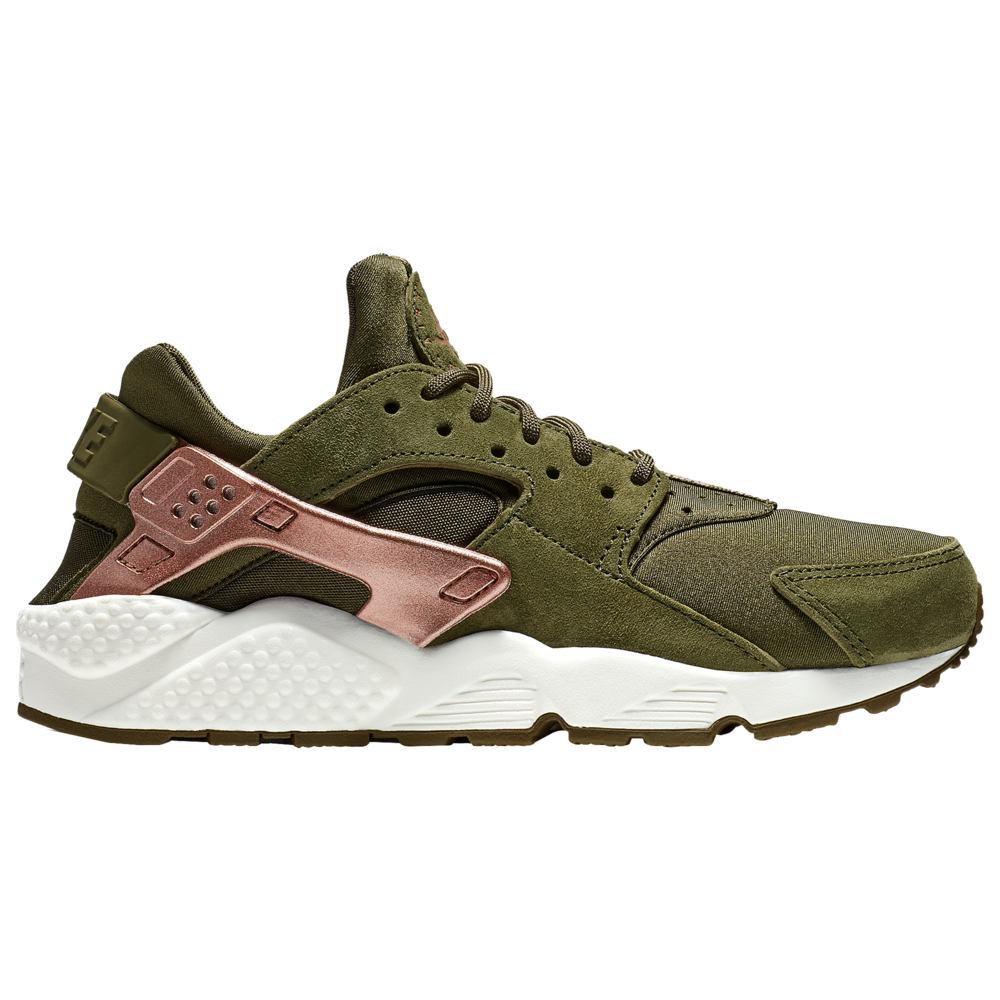 ナイキ Nike レディース ランニング・ウォーキング シューズ・靴【Air Huarache】Olive Canvas/Metallic Rose Gold/Rust Pink/Sail Rose Gold Pack