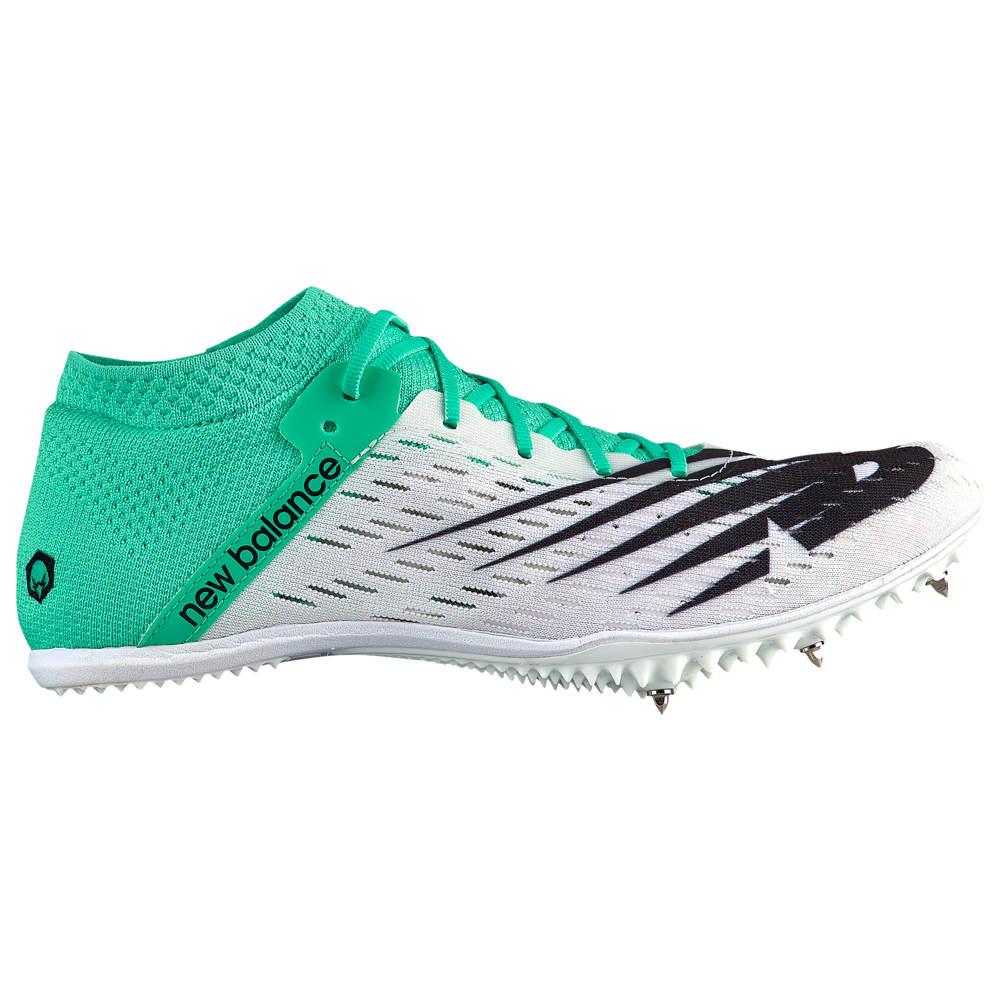ニューバランス New Balance レディース 陸上 シューズ・靴【MD800 V6】White/Neon Emerald