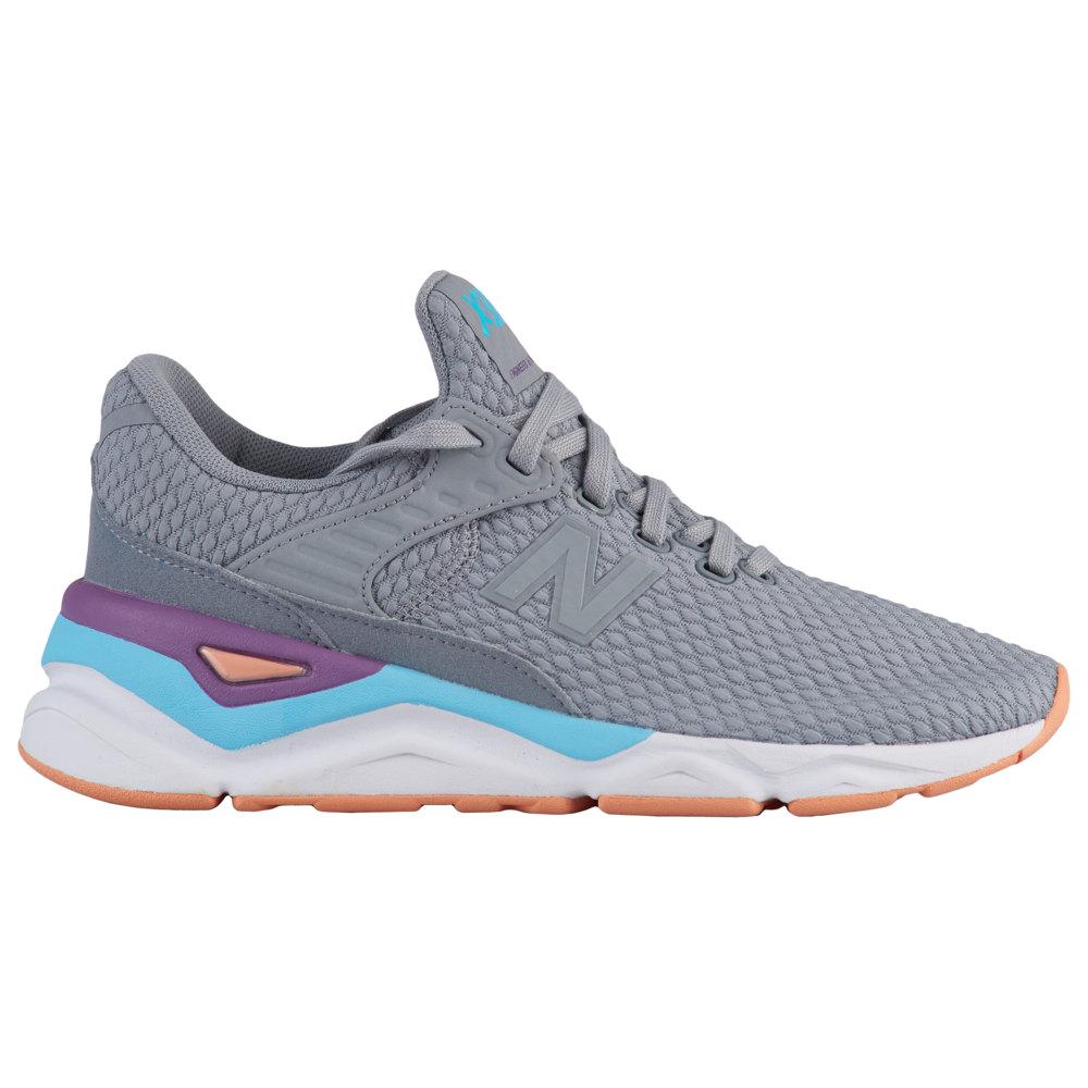 ニューバランス New Balance レディース ランニング・ウォーキング シューズ・靴【X90】Steel/Coral Reef Textile