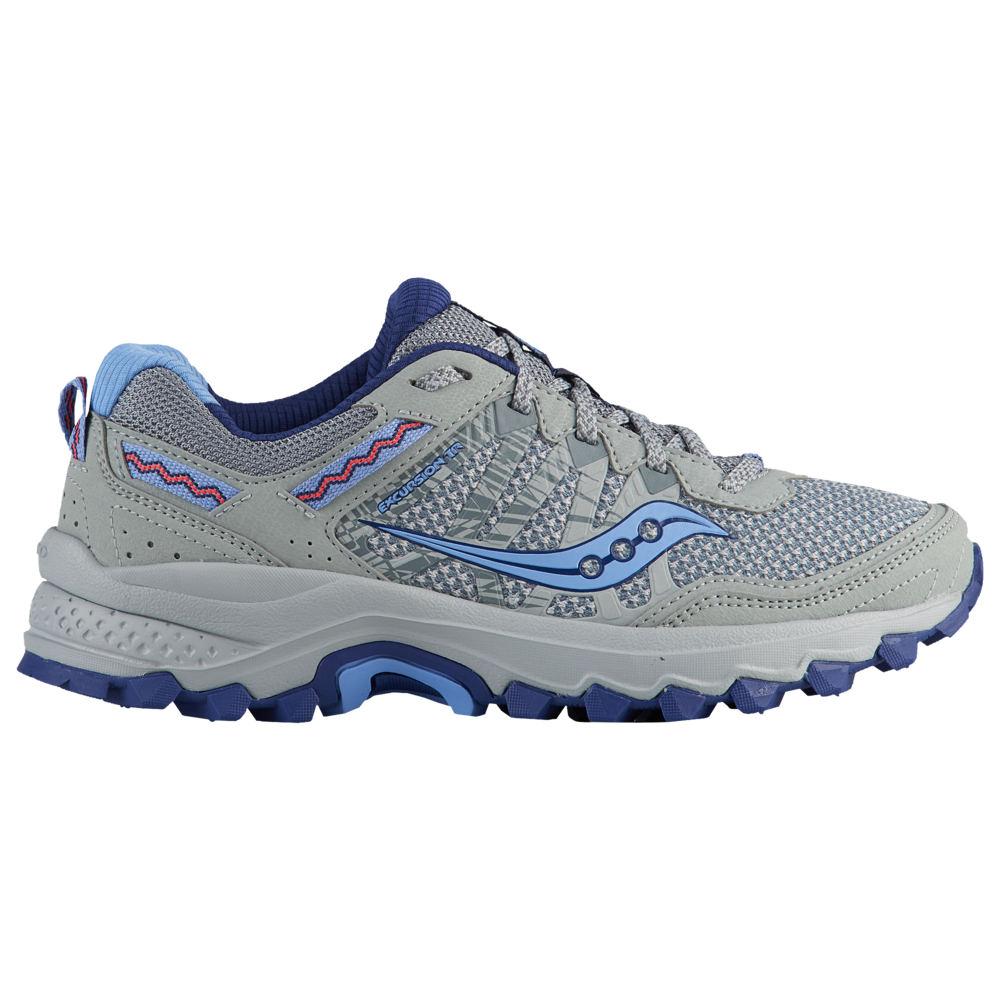 サッカニー Saucony レディース ランニング・ウォーキング シューズ・靴【Excursion TR12】Grey/Signal Blue