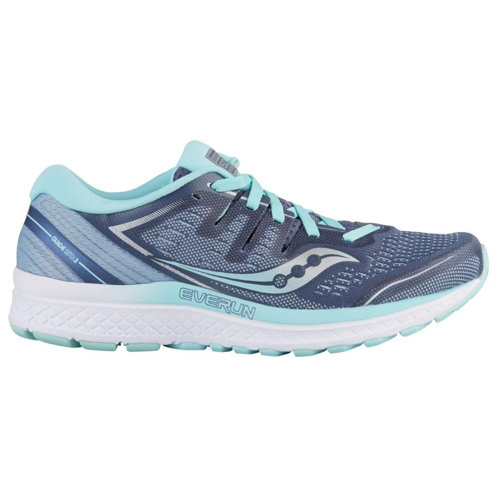サッカニー Saucony レディース ランニング・ウォーキング シューズ・靴【Guide ISO 2】Slate/Aqua