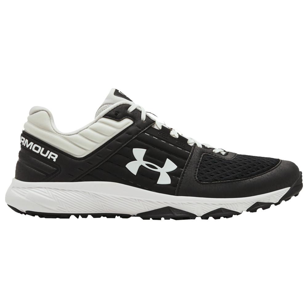 アンダーアーマー Under Armour メンズ 野球 シューズ・靴【Yard Trainer】Black/White