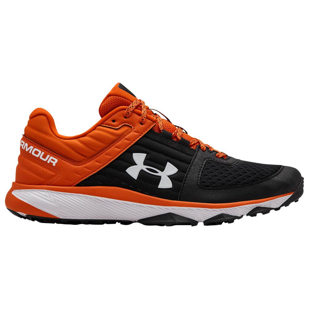 アンダーアーマー Under Armour メンズ 野球 シューズ・靴【Yard Trainer】Black/Orange