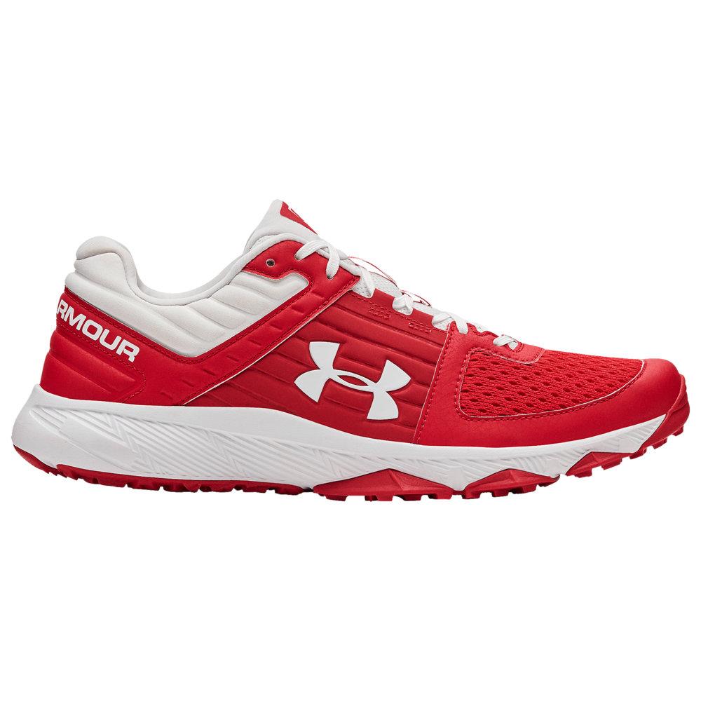 アンダーアーマー Under Armour メンズ 野球 シューズ・靴【Yard Trainer】Red/White