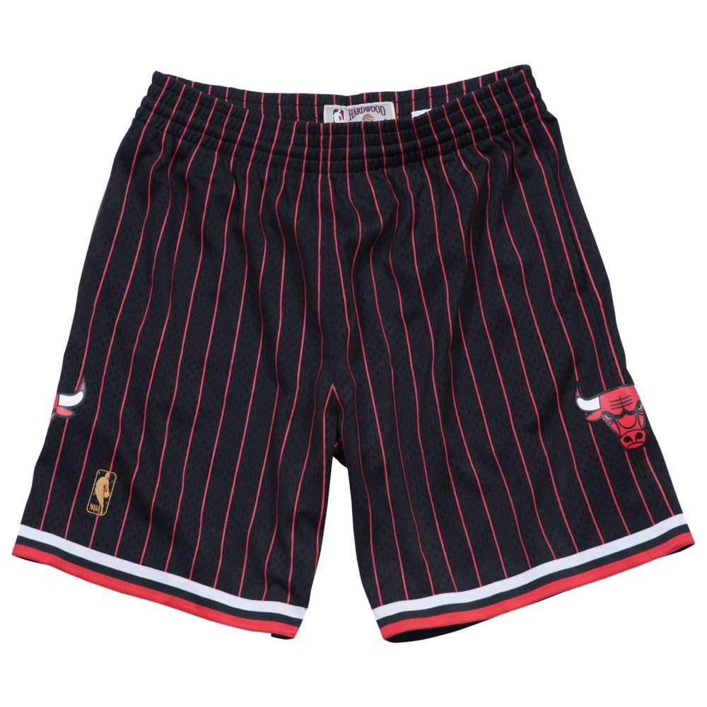 ミッチェル&ネス Mitchell & Ness メンズ バスケットボール ボトムス・パンツ【NBA Swingman Shorts】NBA Chicago Bulls Black 1996 to 1997
