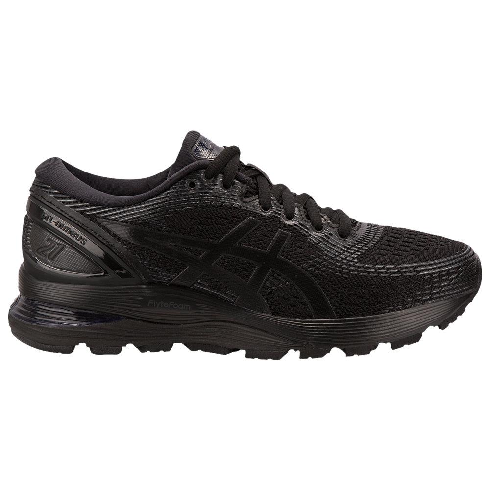 アシックス ASICS(r) レディース ランニング・ウォーキング シューズ・靴【GEL-Nimbus 21】Black/Black