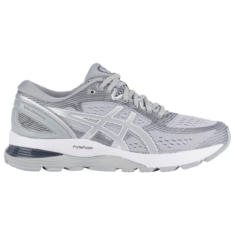アシックス ASICS(r) レディース ランニング・ウォーキング シューズ・靴【GEL-Nimbus 21】Mid Grey/Silver
