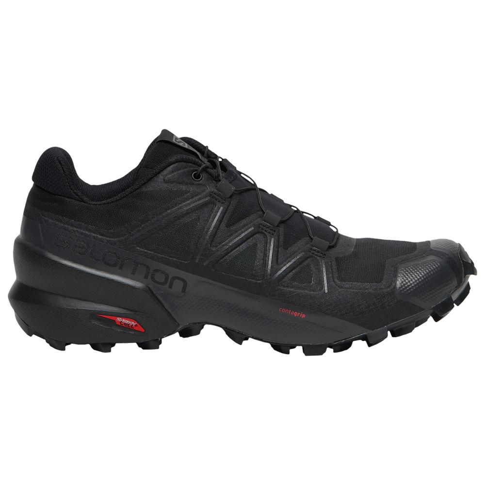 サロモン Salomon メンズ ランニング・ウォーキング シューズ・靴【Speedcross 5】Black/Black