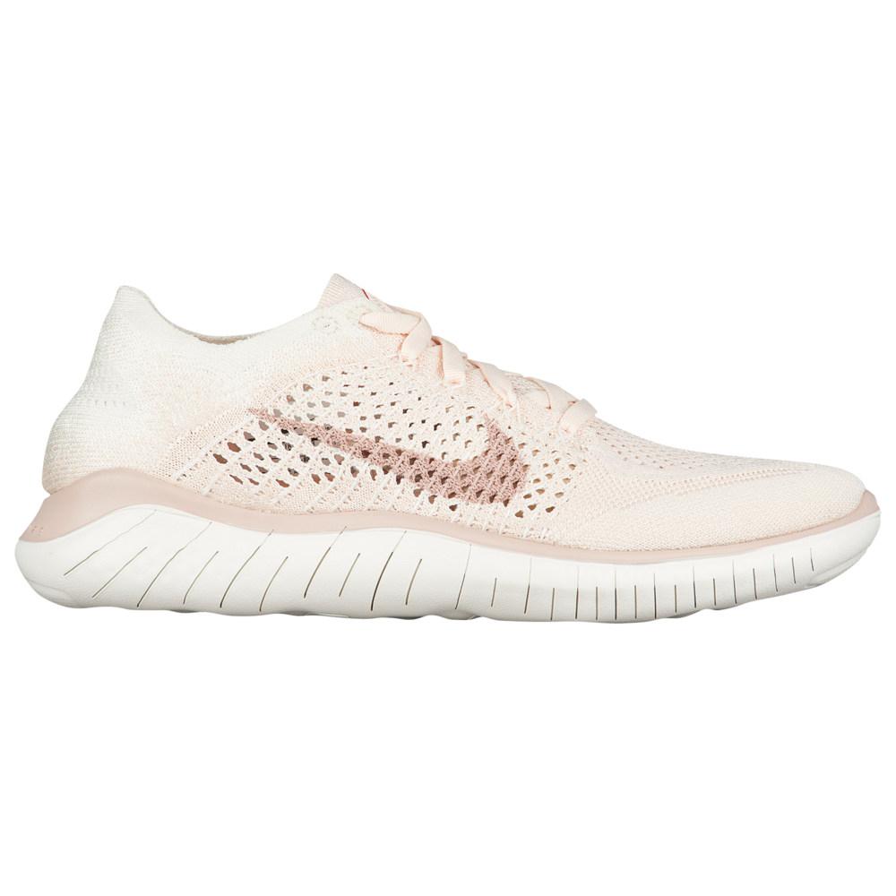 ナイキ Nike レディース ランニング・ウォーキング シューズ・靴【Free RN Flyknit 2018】Guava Ice/Particle Beige/Sail/Rust Pink