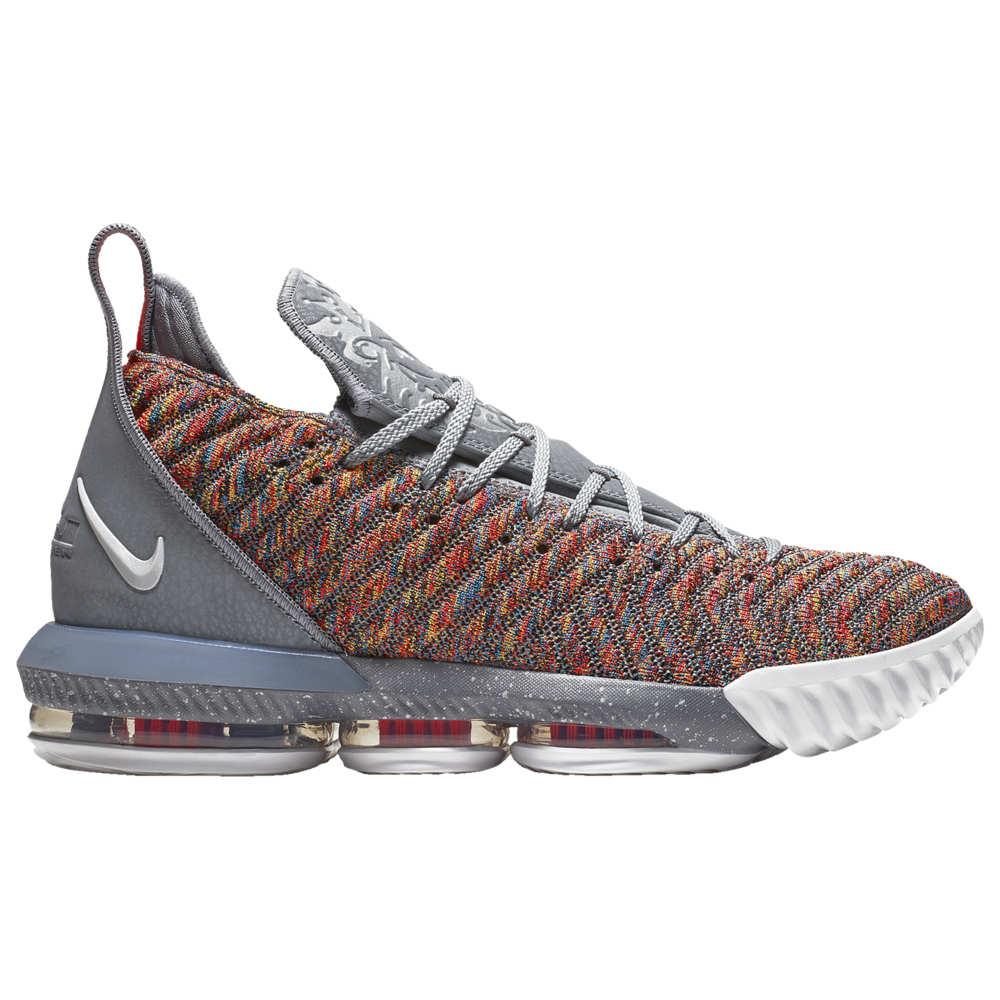ナイキ Nike メンズ バスケットボール シューズ・靴【LeBron 16】Lebron James Multi/Metallic Silver/Cool Grey
