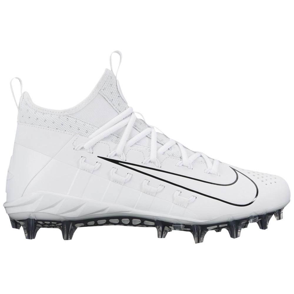 ナイキ Nike メンズ ラクロス シューズ・靴【Alpha Huarache 6 Elite LAX】White/White/Black/Black