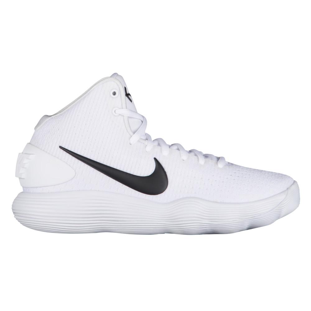ナイキ Nike レディース バスケットボール シューズ・靴【React Hyperdunk 2017 Mid】White/Black
