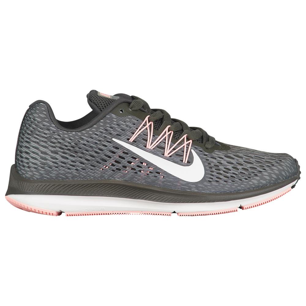 ナイキ Nike レディース ランニング・ウォーキング シューズ・靴【Zoom Winflo 5】Newsprint/Summit White/Dark Stucco/Anthracite