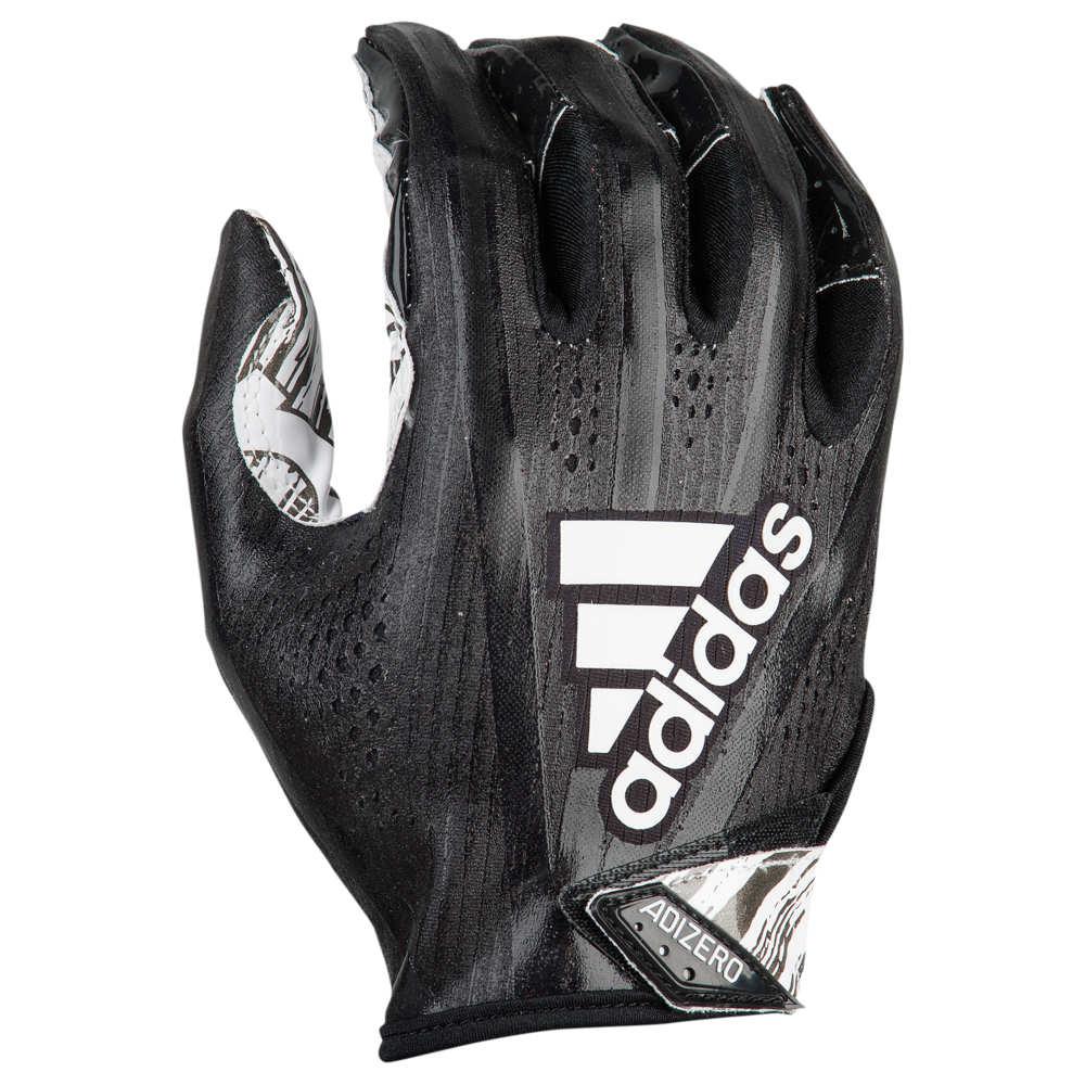 アディダス adidas メンズ アメリカンフットボール グローブ【adiZero 5-Star 7.0 Receiver Glove】Black/Metallic White/Speed Of Light Speed of Light