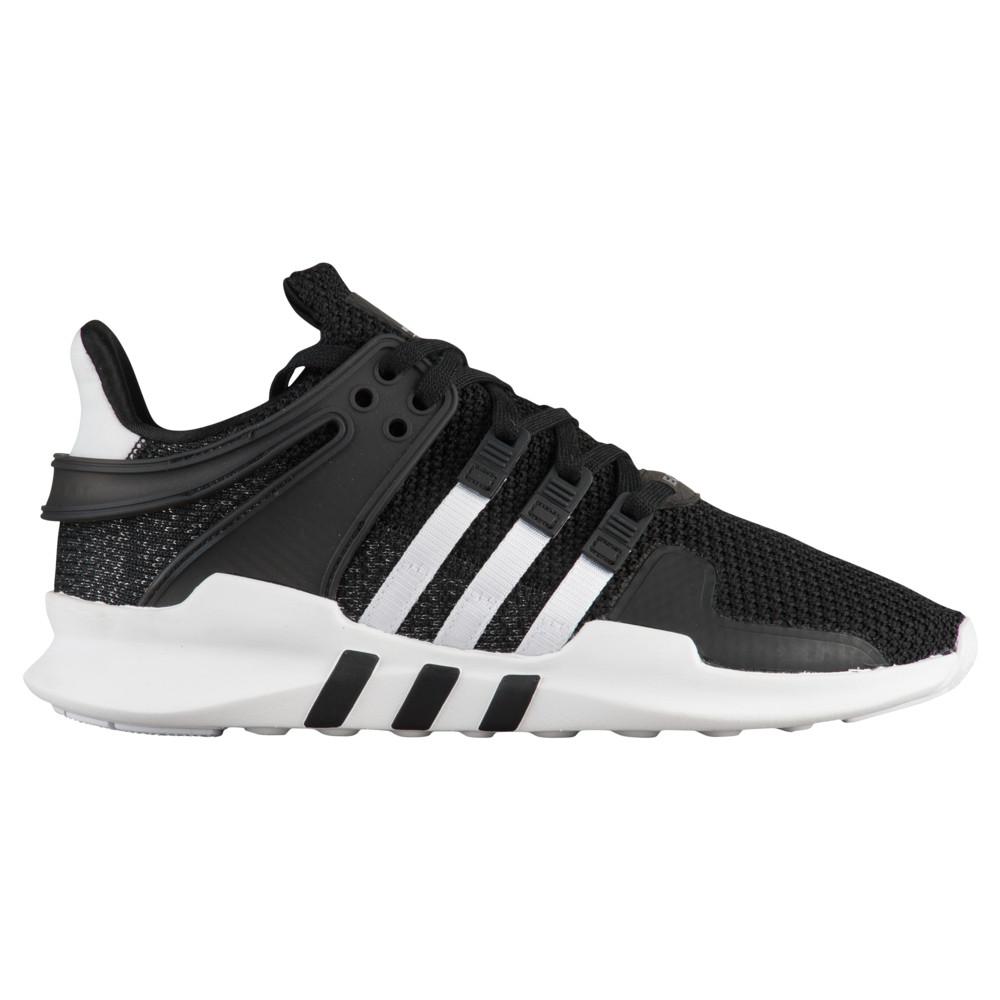 アディダス adidas Originals レディース ランニング・ウォーキング シューズ・靴【EQT Support ADV】Black/White Foundation Pack