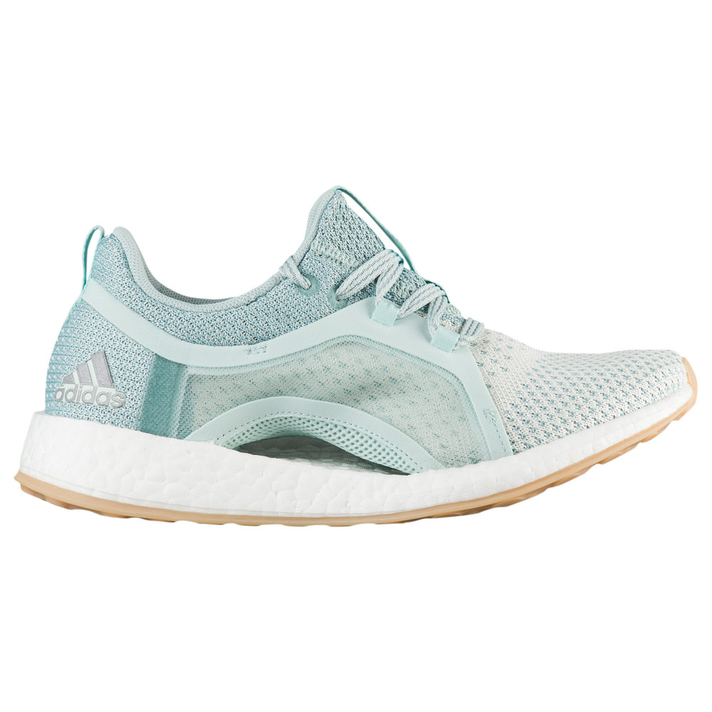 アディダス adidas レディース ランニング・ウォーキング シューズ・靴【Pure Boost X 2.0 Clima】Ash Green/Silver Met/White Tint