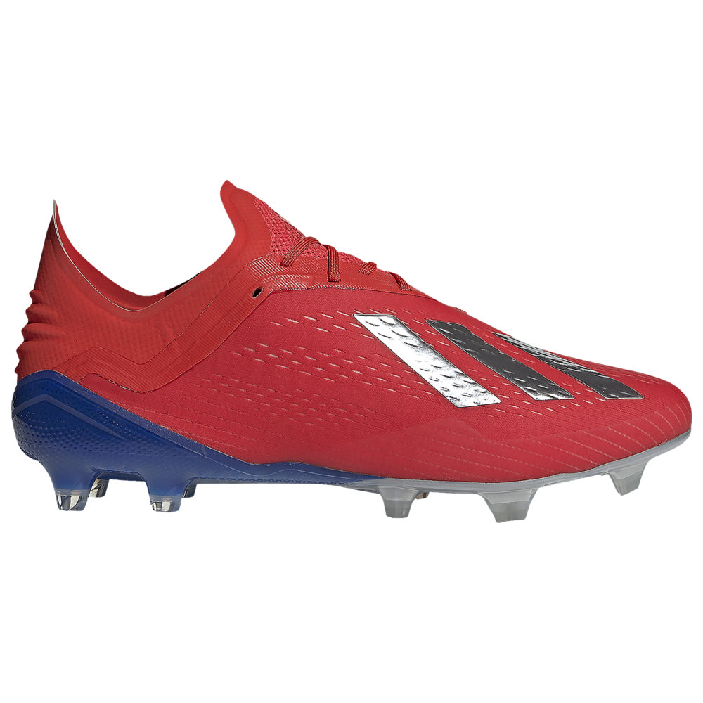 アディダス adidas メンズ サッカー シューズ・靴【X 18.1 FG】Active Red/Silver Metallic/Bold Blue Exhibit