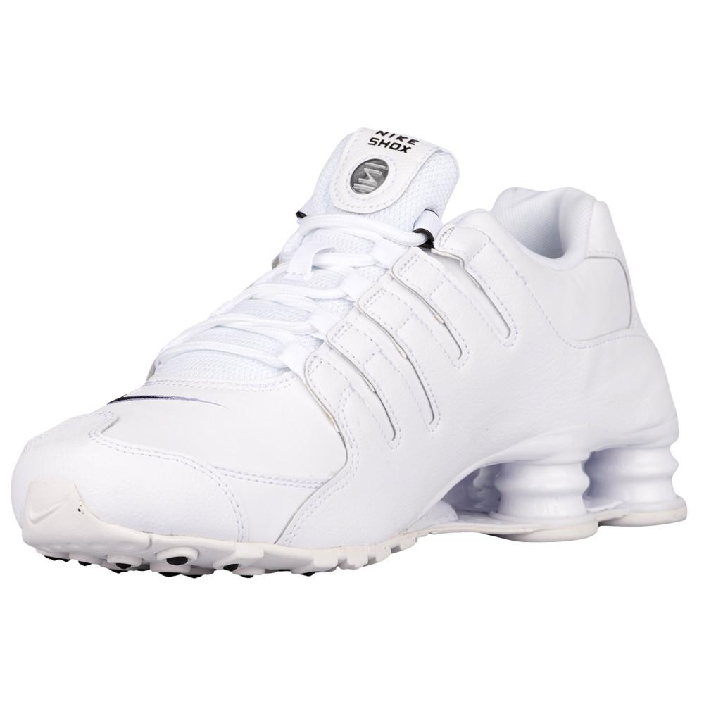 ナイキ Nike メンズ ランニング・ウォーキング シューズ・靴【Shox NZ】White/Black/White EU