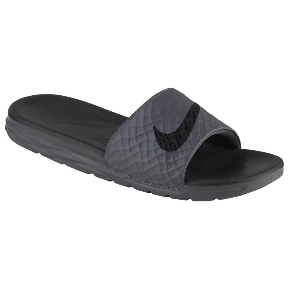 ナイキ Nike メンズ シューズ・靴 サンダル【Benassi Solarsoft Slide 2】Dark Grey/Black