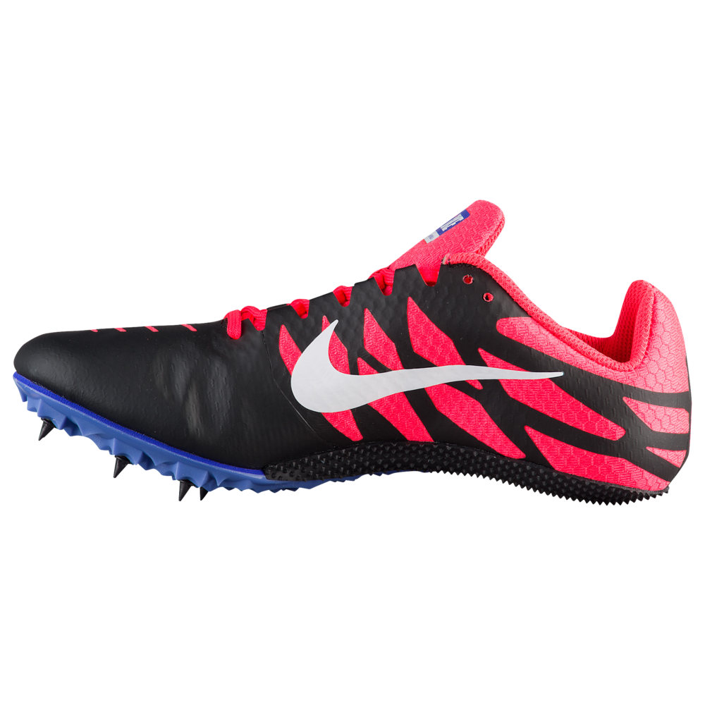 ナイキ Nike レディース 陸上 シューズ・靴【Zoom Rival S 9】Black/White/Solar Red/Persian Violet