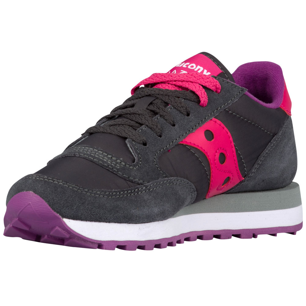 サッカニー Saucony レディース ランニング・ウォーキング シューズ・靴【Jazz Original】Charcoal/Pink