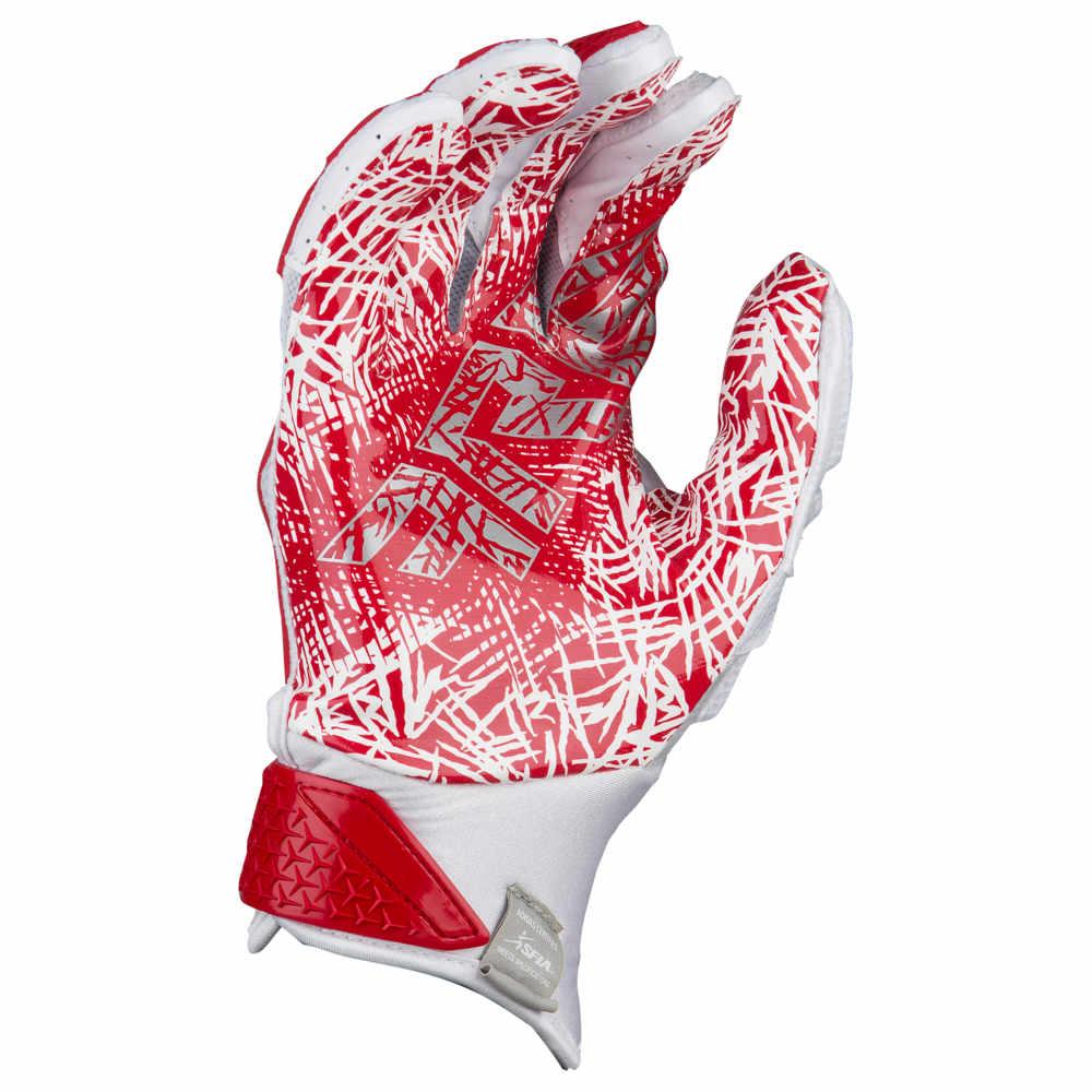 アディダス adidas メンズ アメリカンフットボール グローブ【Freak 3.0 Football Gloves】White/Red Exclusive