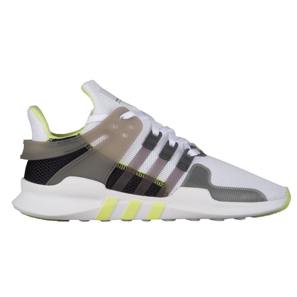 アディダス adidas Originals レディース ランニング・ウォーキング シューズ・靴【EQT Support ADV】White/Grey/Semi Frozen Yellow