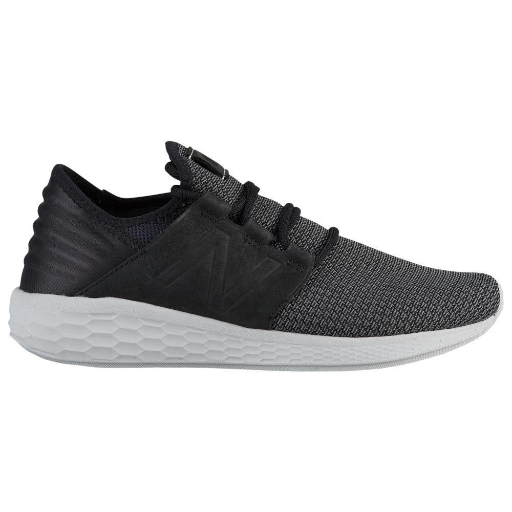 ニューバランス New Balance メンズ ランニング・ウォーキング シューズ・靴【Fresh Foam Cruz V2 Nubuck】Black/Castlerock