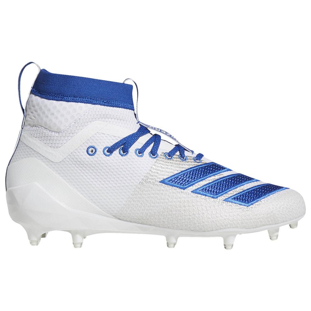アディダス adidas メンズ アメリカンフットボール シューズ・靴【adiZero 8.0 SK】White/Collegiate Royal Available to Ship Mid April