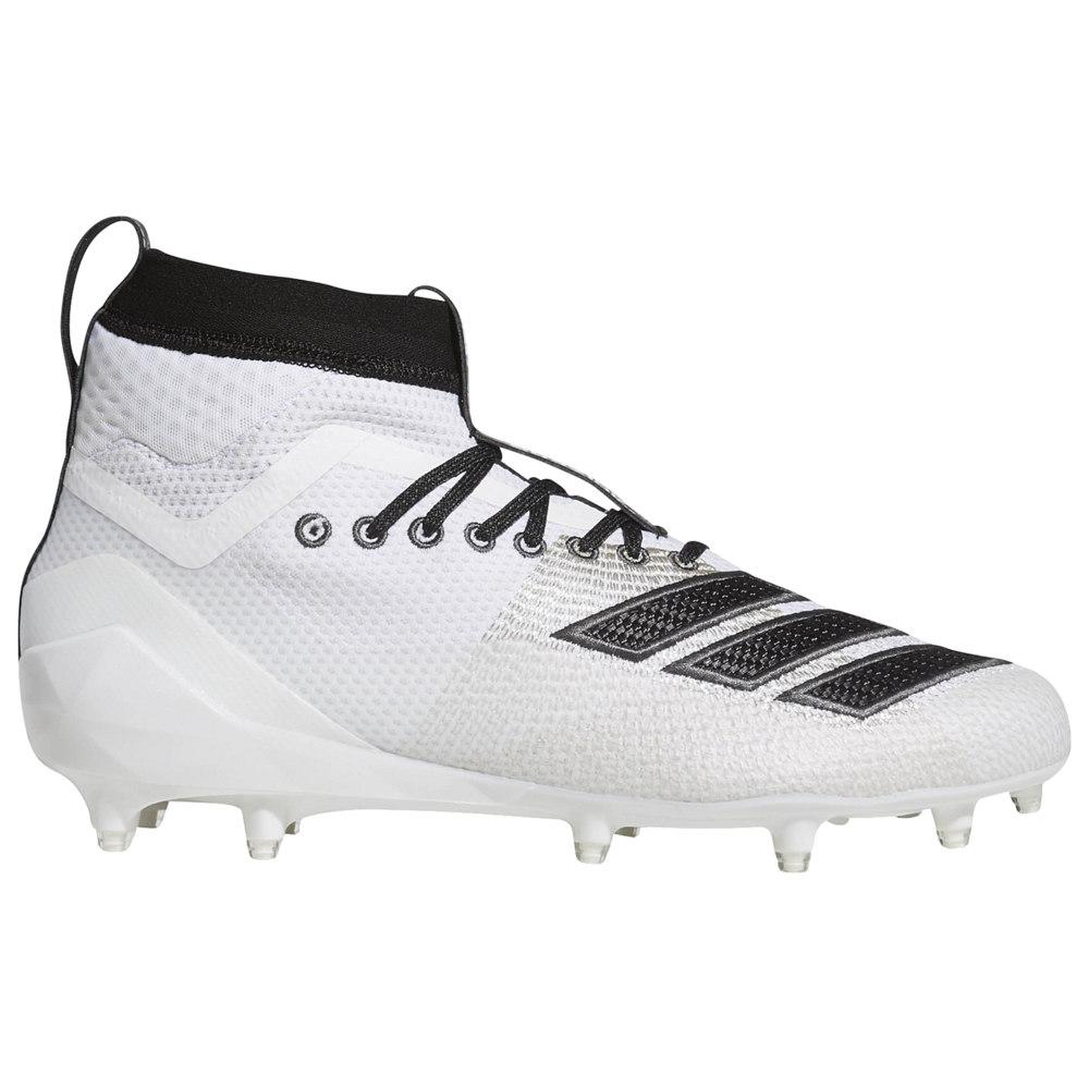 アディダス adidas メンズ アメリカンフットボール シューズ・靴【adiZero 8.0 SK】White/Core Black available to ship mid-late March