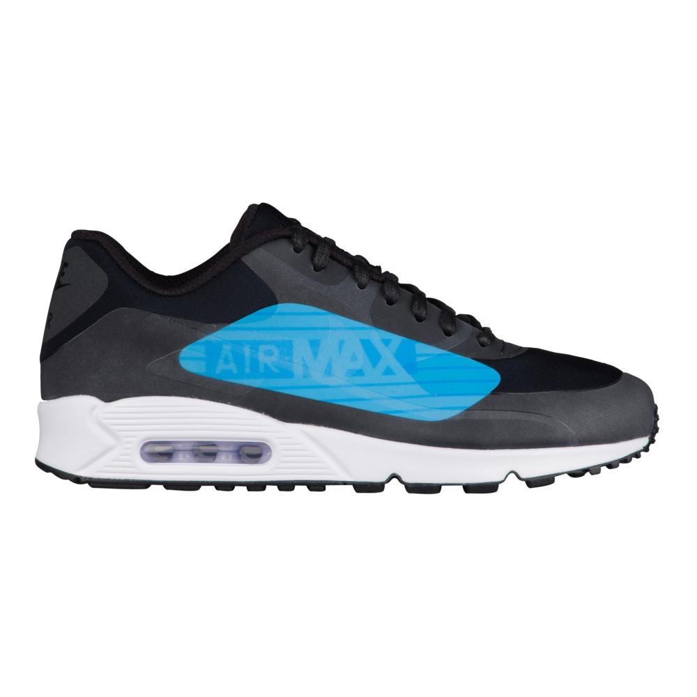 ナイキ Nike メンズ ランニング・ウォーキング シューズ・靴【Air Max 90 NS GPX】Black/Laser Blue/Heritage Cyan Big Logo Pack