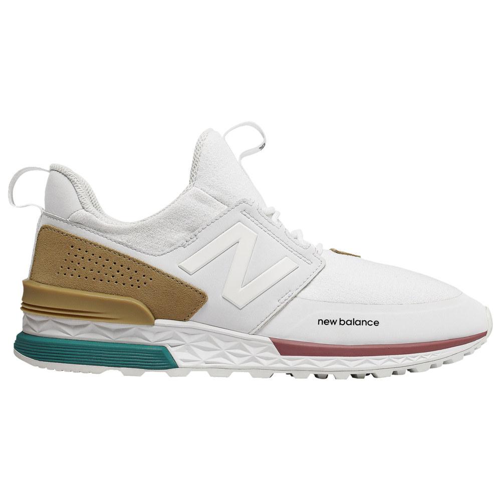 ニューバランス New Balance メンズ ランニング・ウォーキング シューズ・靴【574 Sport】White/Hemp