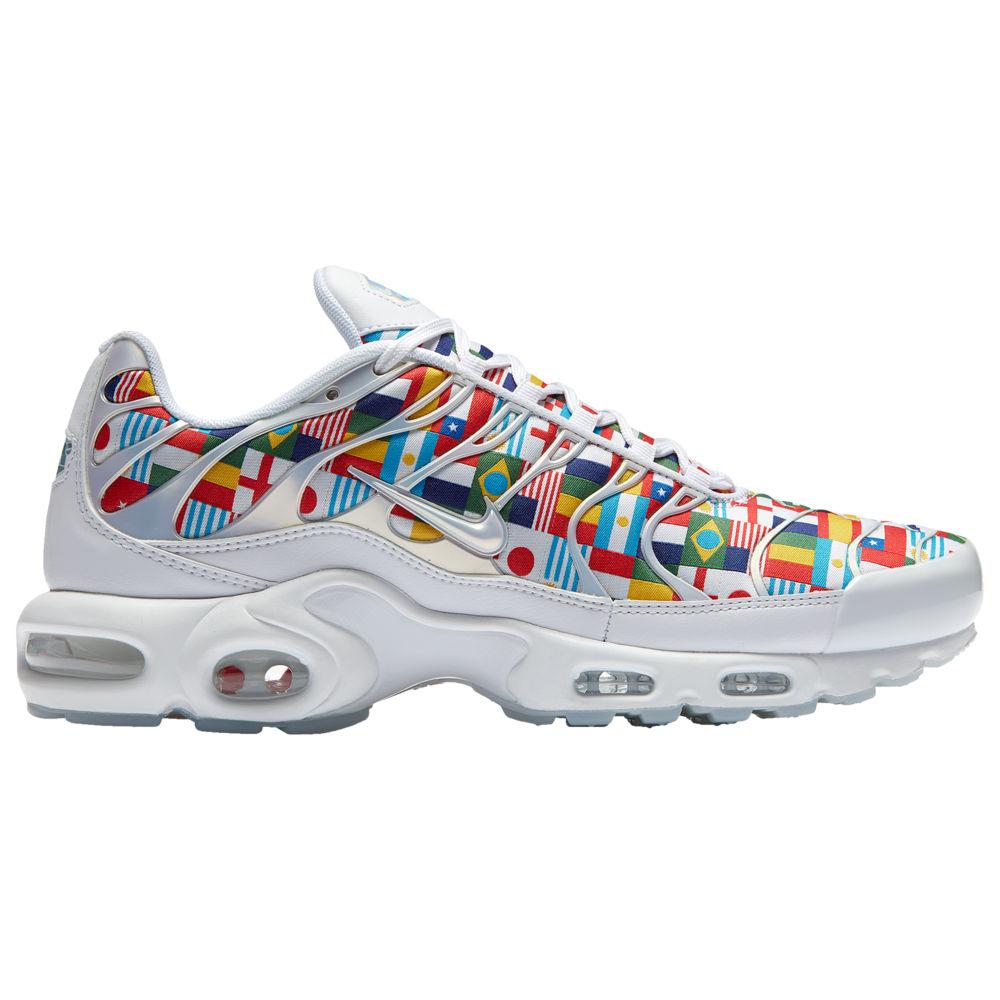 ナイキ Nike メンズ ランニング・ウォーキング シューズ・靴【Air Max Plus】White/Multi One World